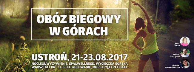 obóz biegowy w górach (Ustroń, Bielsko-Biała) jak zacząć biegać?