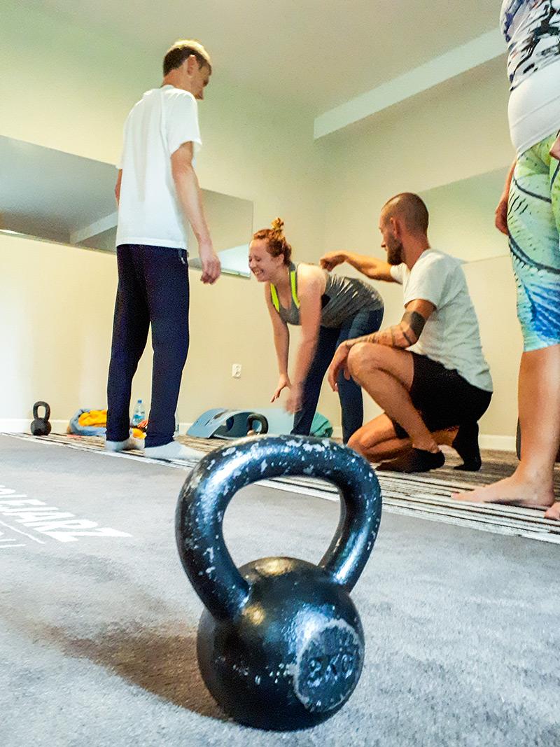 Trening specjalistyczny w hotelu kolejarz best for you na Równicy w Ustroniu