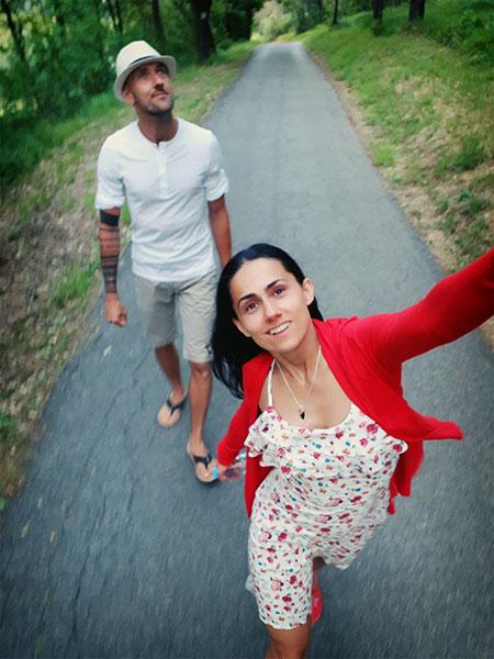 spacery to najlepsza forma walki z otyloscia. wspomaganie odchudzania